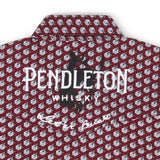 """Pendleton Whisky"" Logo Men's Shirt by Wrangler"