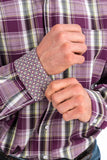 Punch Plaid Men's Shirt by Cinch