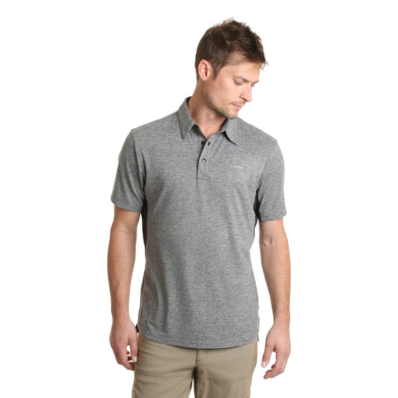 Grey Short Sleeve Men's T-Shirt by Wrangler