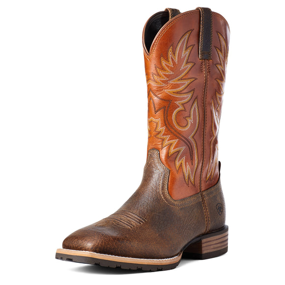 Orange 'Hybrid Big Boy' Men's Boot by Ariat®