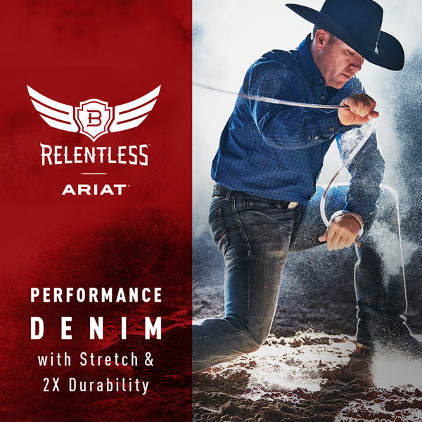 23f489936f2 Relaxed Fit Camaro Relentless Men's Jean by Ariat