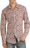 Modern Fit Aztec Men's Shirt by Rock and Roll Cowboy