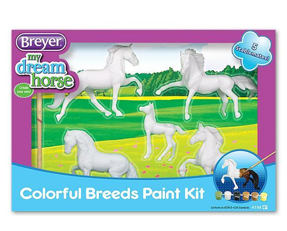 Breyer® Colorful Breeds Paint Kit
