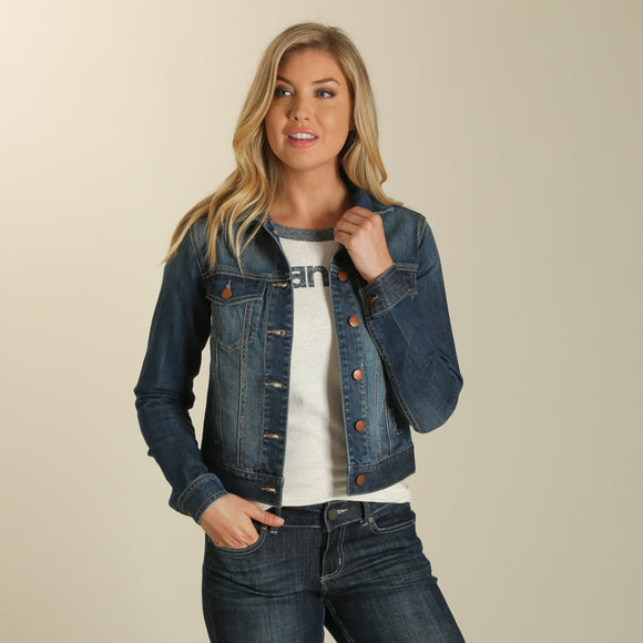 Denim Women's Jacket by Wrangler