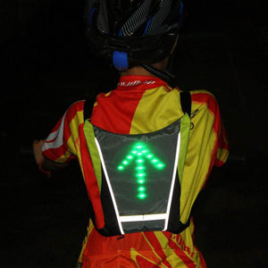 Cycling LED Turn Signal Vest