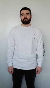Hidden Long Sleeve | White