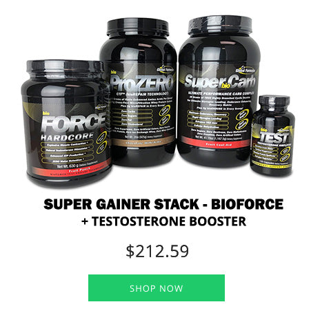 Super Gainer Stack - bioFORCE