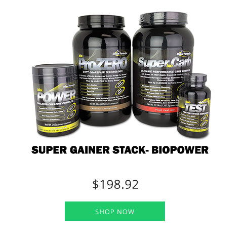 Super Gainer Stack - bioPOWER