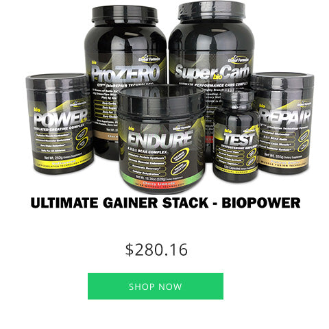 Ultimate Gainer Stack - bioPOWER