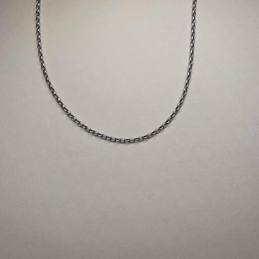 Kette 102 - Basic Chain Sterling Silver