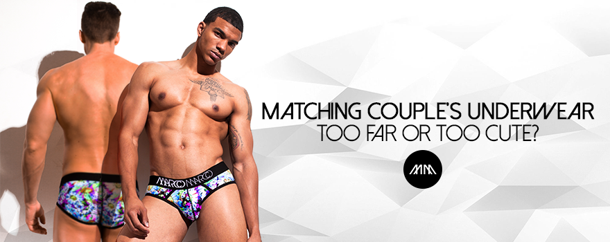 Matching Couple's Underwear: Too Far or Too Cute?