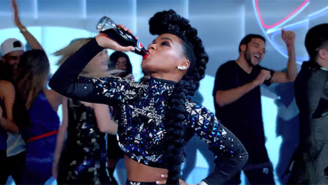 Janelle Monae in Marco Marco for Pepsi