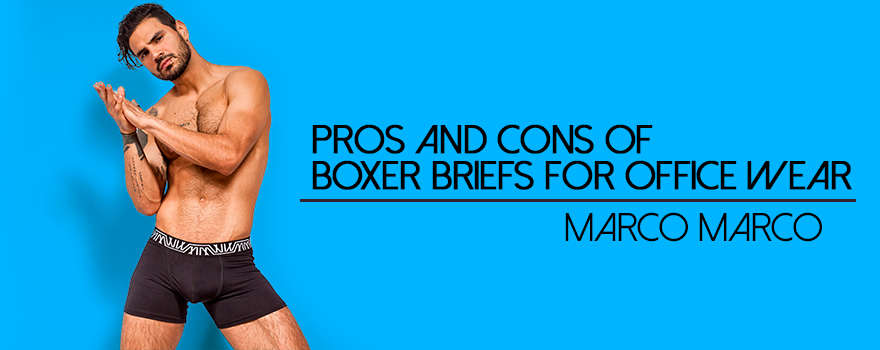 Pros and Cons of Boxer Briefs for Office Wear