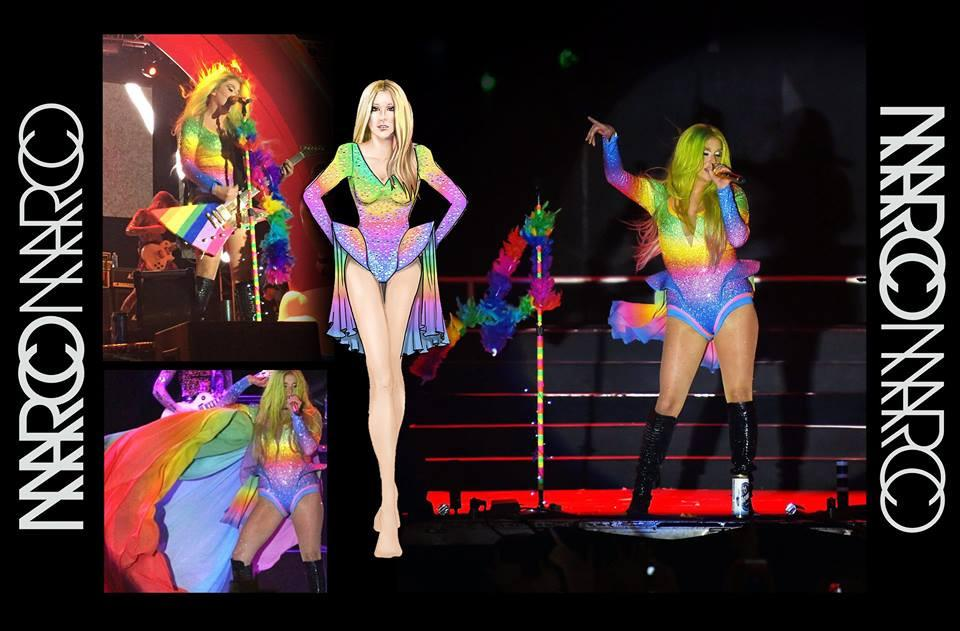 Kesha Performs at LA Pride in Marco Marco
