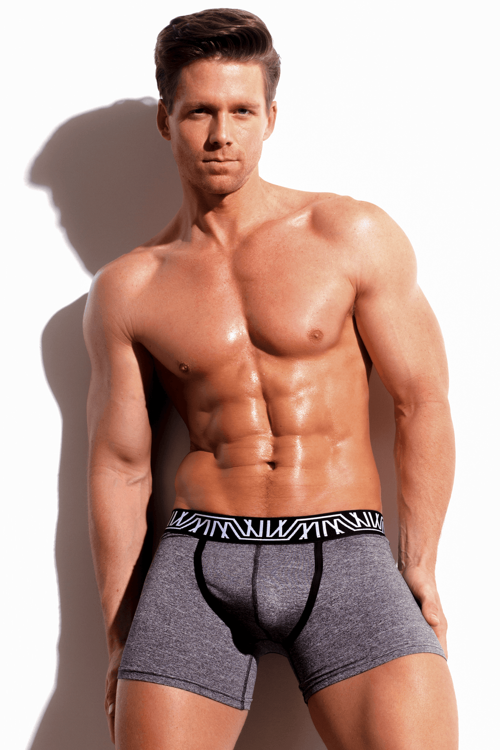 Core Boxer Brief Gray