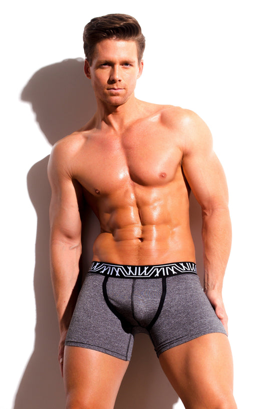 Designer Mens Underwear | Marco Marco | Core Boxer Brief Gray