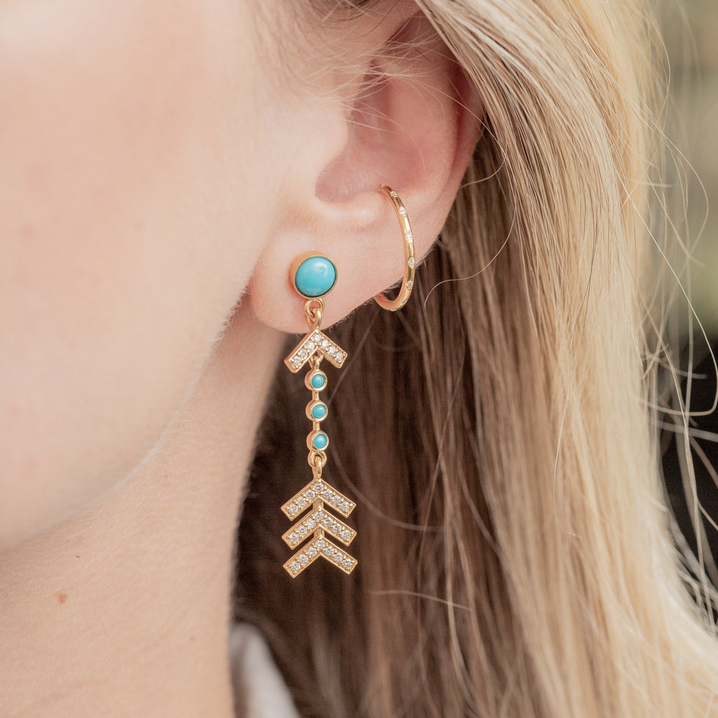 Arrow Drop Earrings