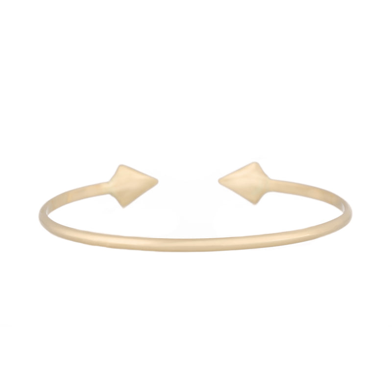 Diamond Double Peak Cuff