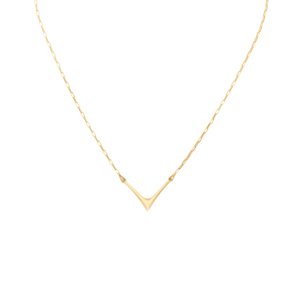Gold Peak Necklace