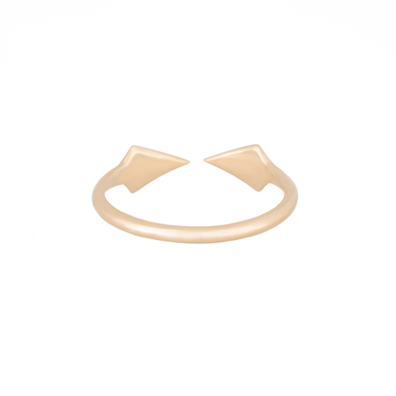 Double Peak Ring