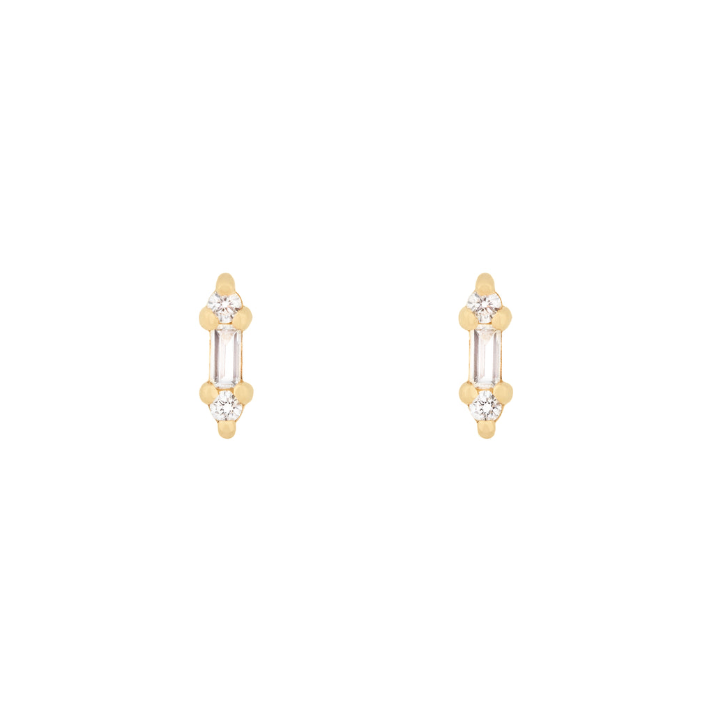 Itty Bitty Diamond Studs