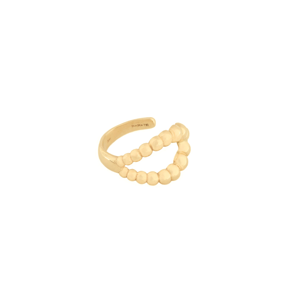 Caviar Loop Ring