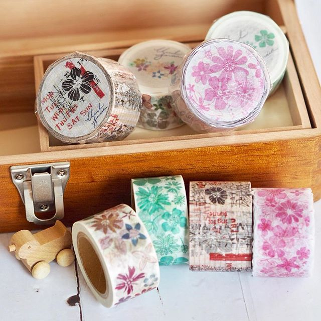 Round Top x Chamil Garden Washi tapes