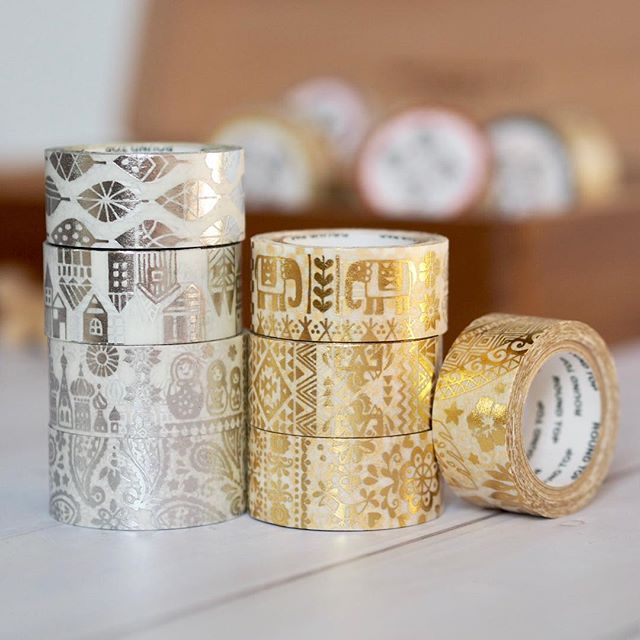 Metallic Washi Tapes