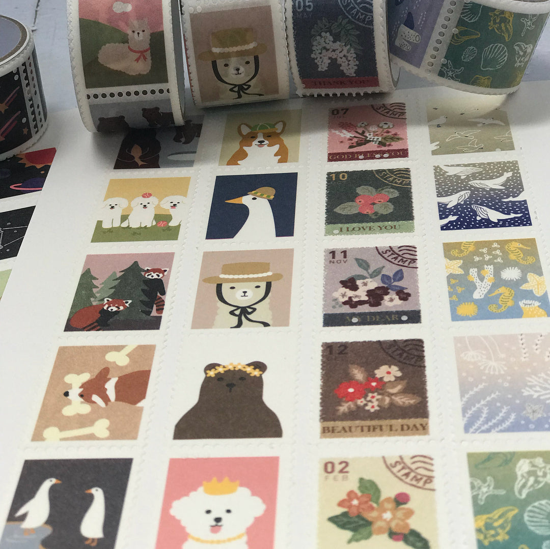Dailylike stamp washi tape