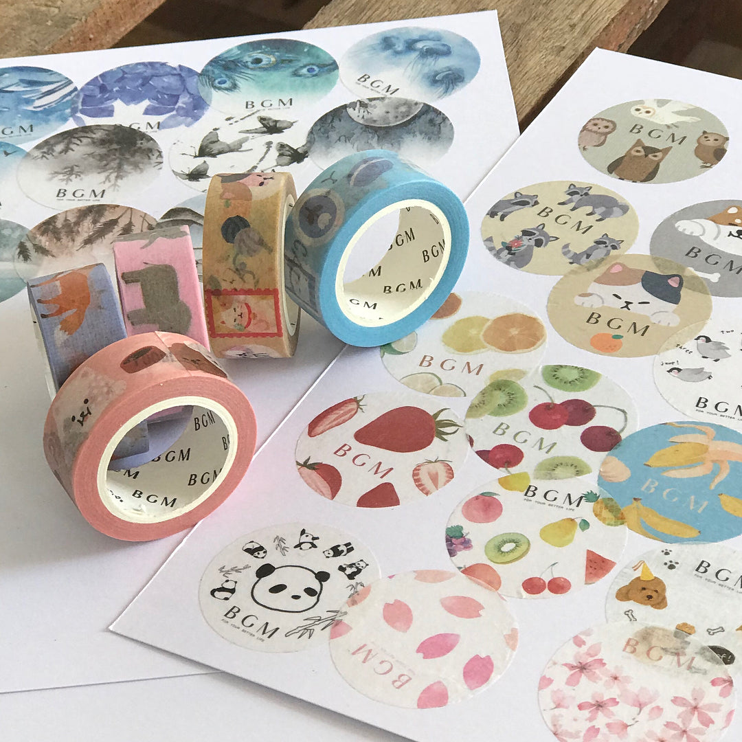 BGM Washi Tapes