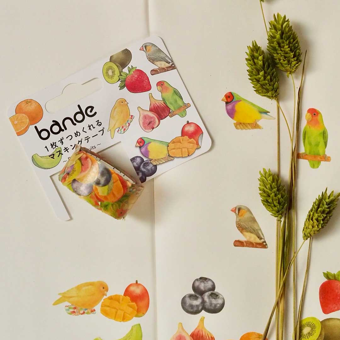New Bande Birds and Fruits