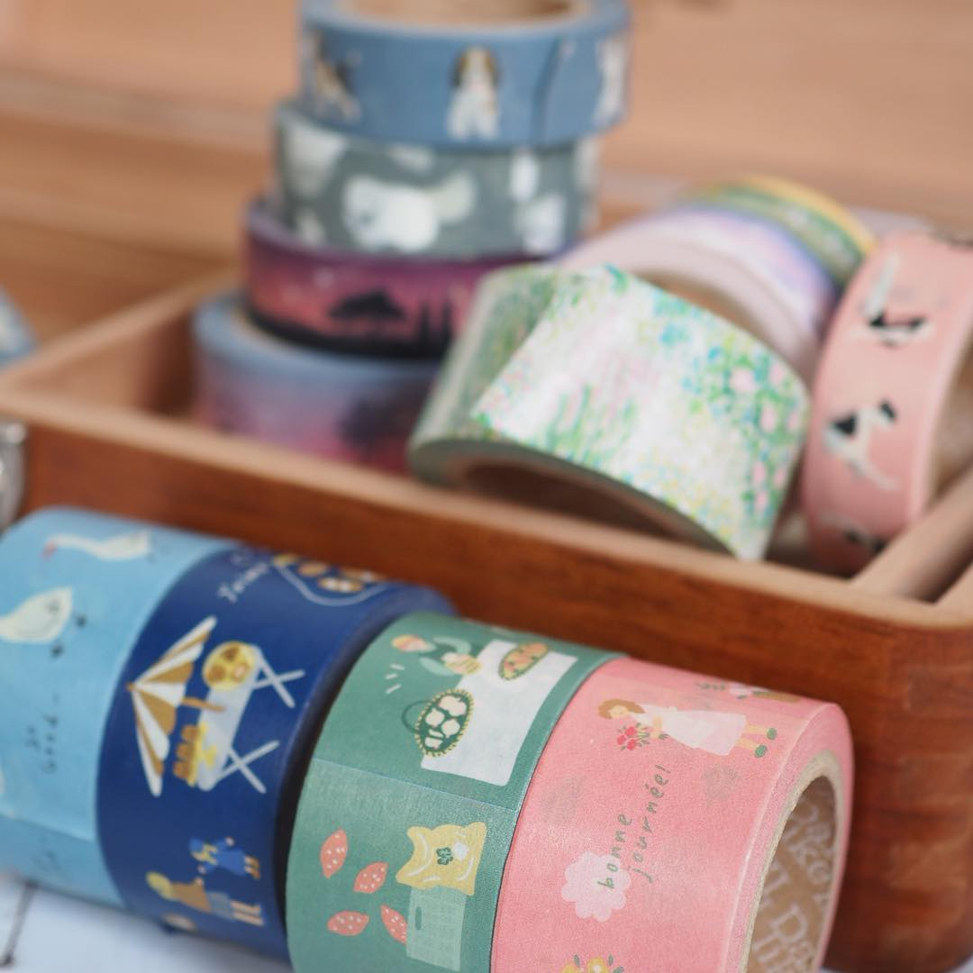 New washi tapes from Dailylike.