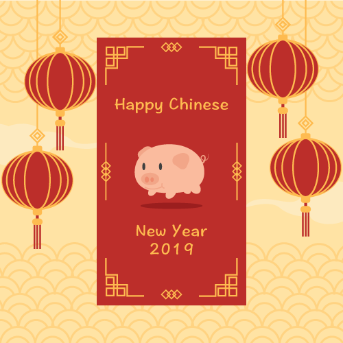 Chinese New Year Closure Notice 2019