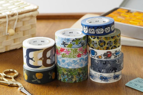 mt x Collaboration washi tapes | Washi Wednesday