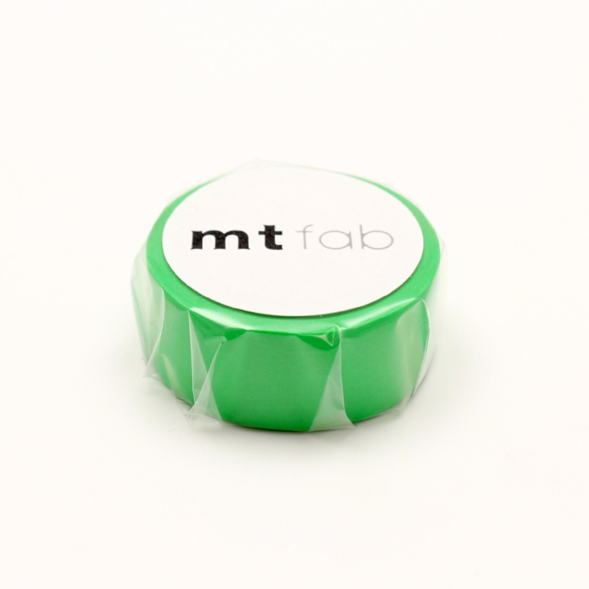 MT Fab Washi Tape Fluorescent Green