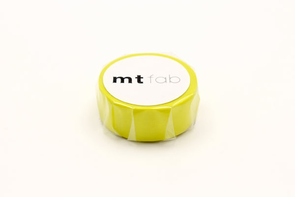 mt fab fluorescent yellow washi tape (MTFC1P04) | Washi Wednesday