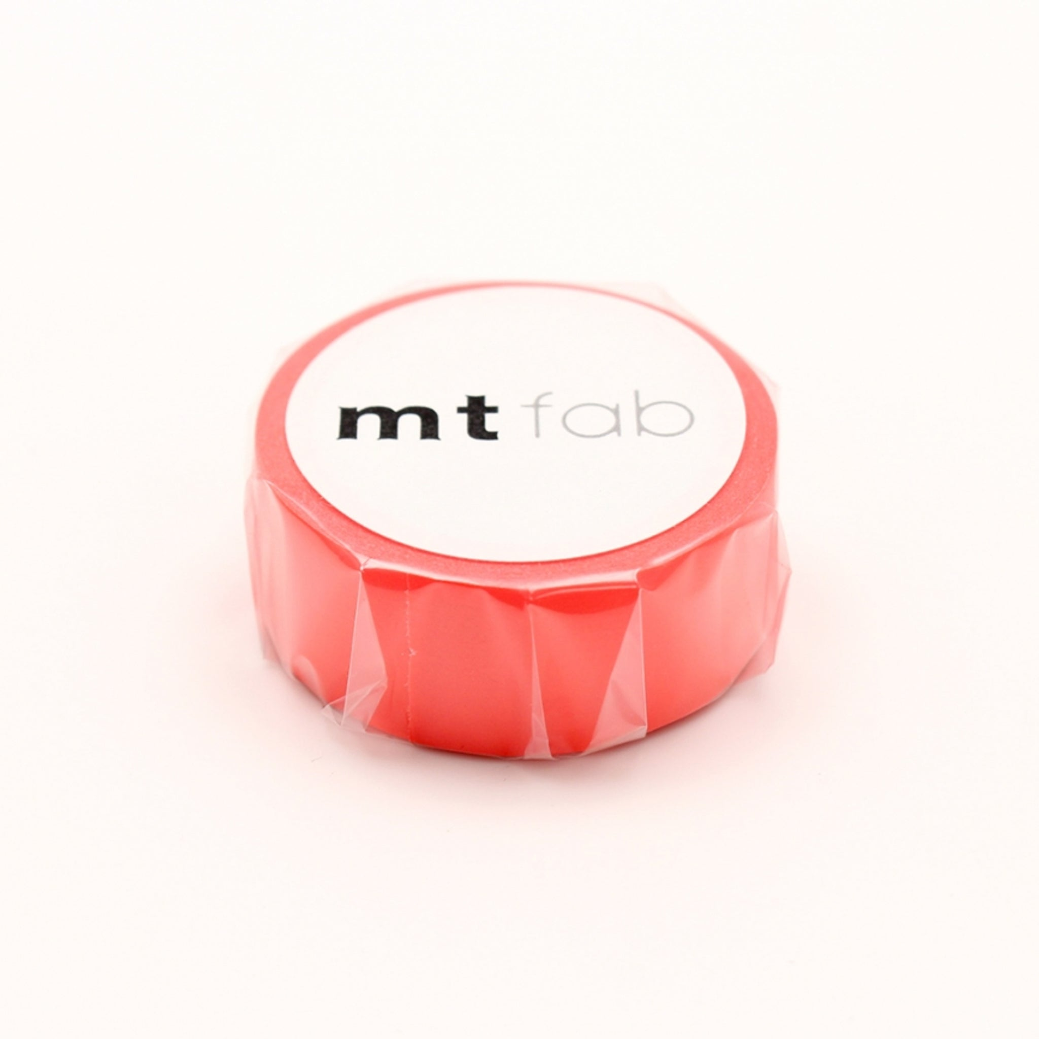 MT Fab Washi Tape Fluorescent Red