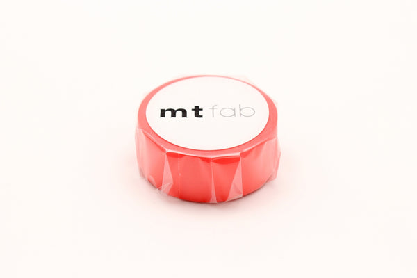 mt fab fluorescent red washi tape (MTFC1P02) | Washi Wednesday