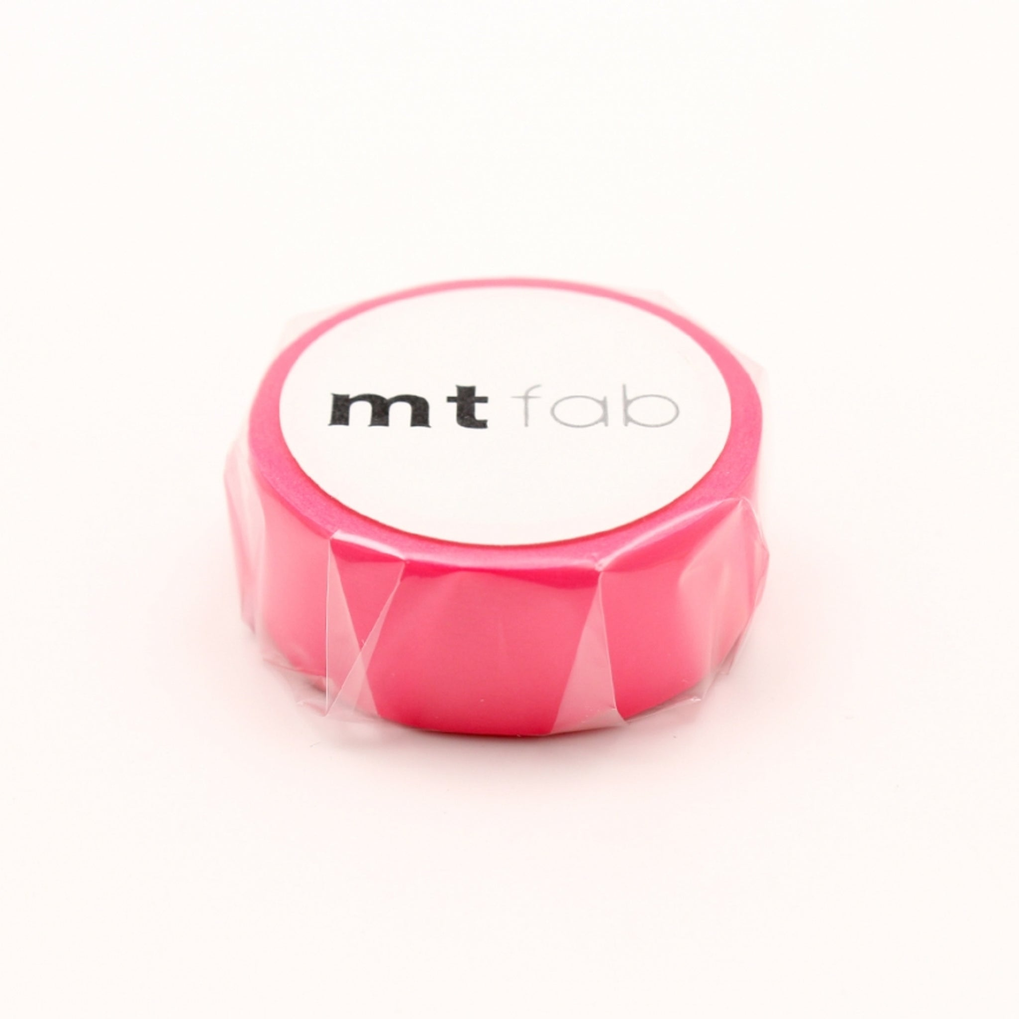 MT Fab Washi Tape Fluorescent Pink