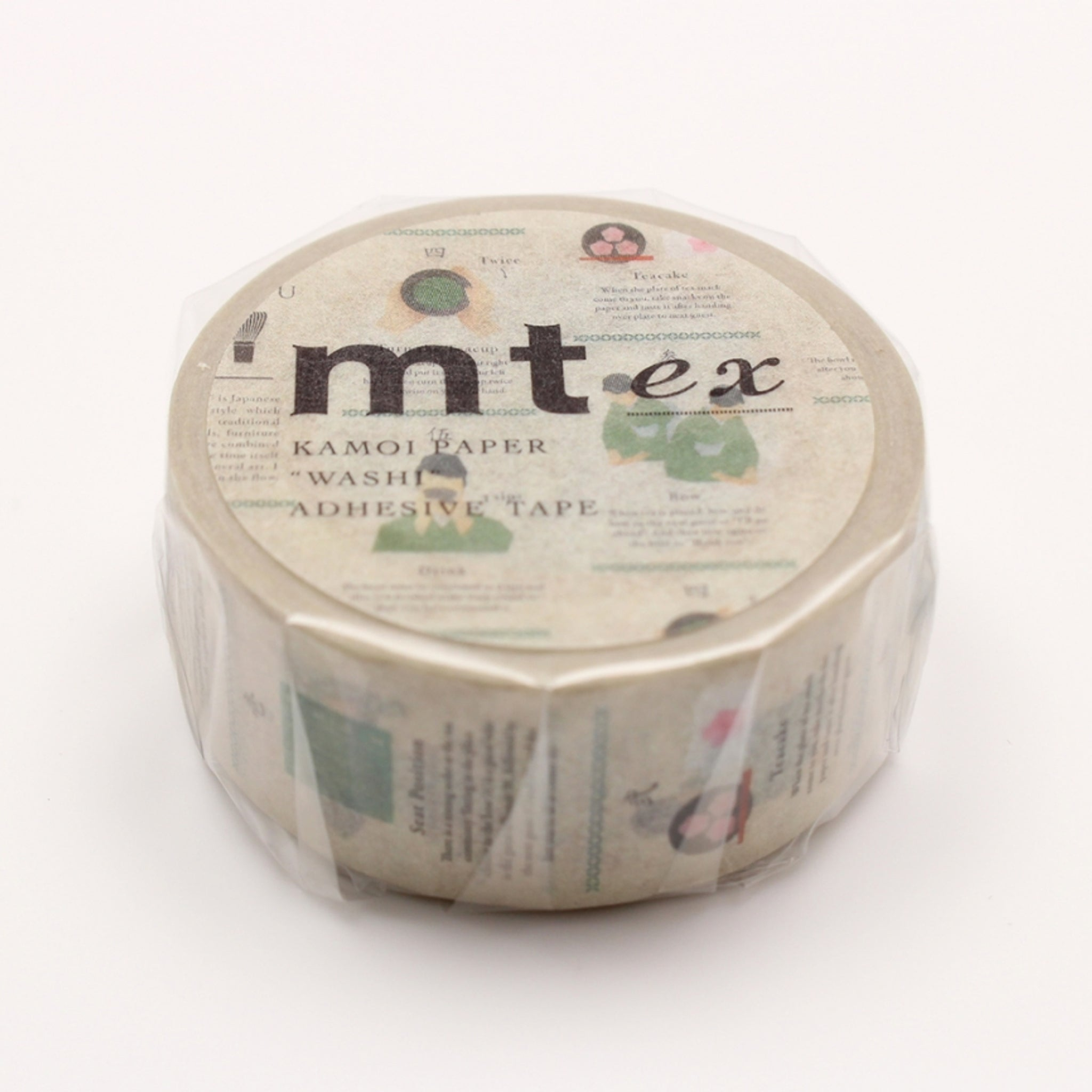 MT EX Washi Tape Tea Ceremony