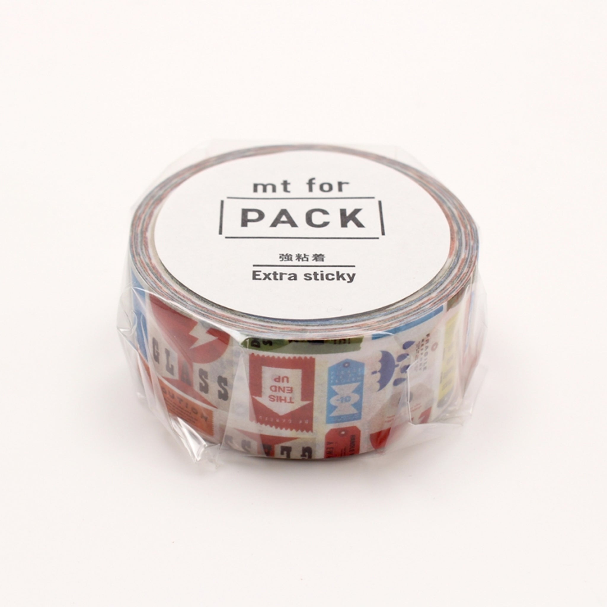 MT For Pack Permanent Tape Care Tag