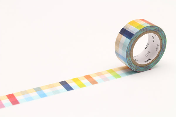 mt fab plaid washi tape (MTDSPR03) | Washi Wednesday