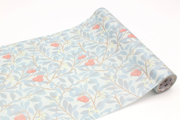 mt wrap 230mm William Morris Arbutus (MTWRAP55) | Washi Wednesday