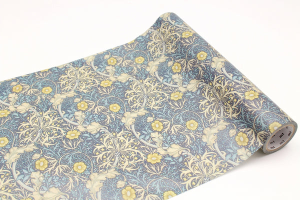mt wrap 230mm William Morris Seaweed (MTWRAP58) | Washi Wednesday