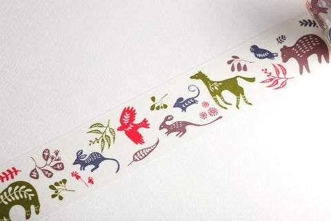 Aimez le Style Botanic Animal Washi Tape