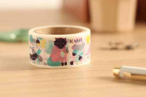 Aimez le Style Animal Washi Tape