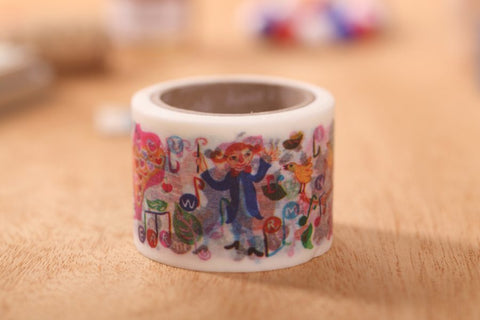 Aimez le Style Concert In Forest Washi Tape