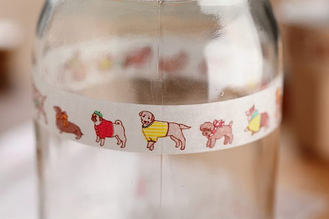 Aimez le Style Dog Washi Tape