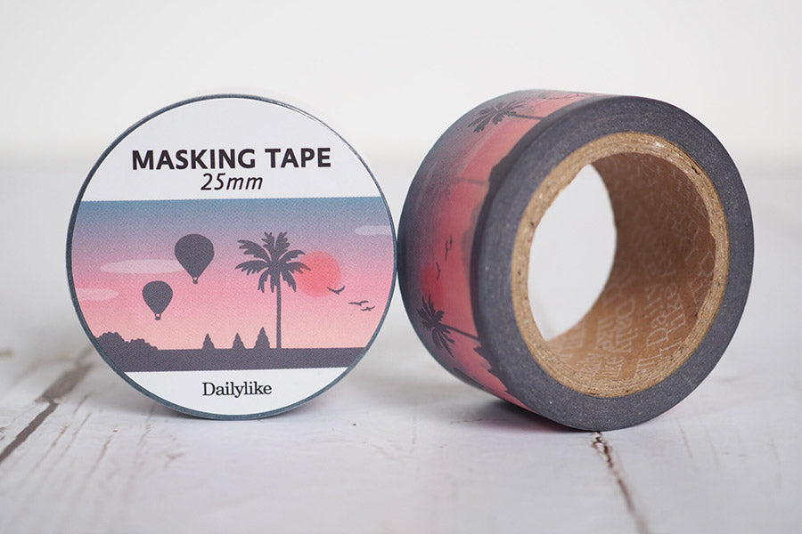 Dailylike Masking Tape 25mm - 03 Sunset
