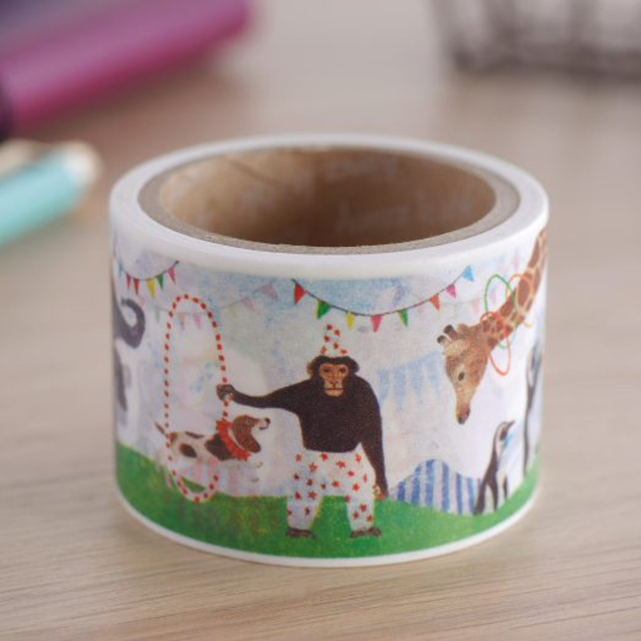 Aimez le Style Washi Tape Animal Circus